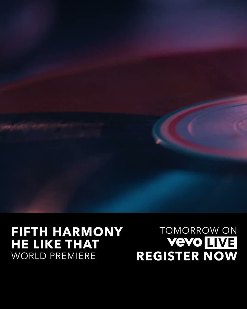 Watch the premiere of #HeLikeThat with us on #5HVevoLive TOMORROW at 3:45pm PST �� https://t.co/RnIFRFlA3W https://t.co/AhaDyxGeQX