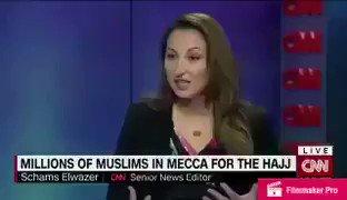 """مذيعة قناة CNN تصف مشاعر #الحج وتتحدث بتأثر عن حجاج بيت الله الحرام : """"لا تمييز بين الغني والفقير""""🌹 https://t.co/37odYP0IOh"""