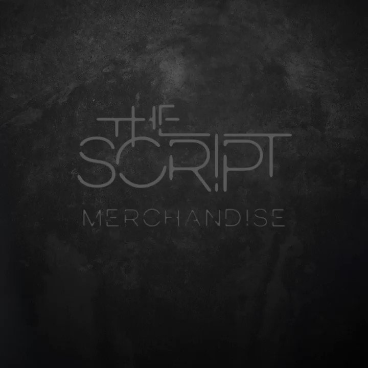 We've taken some brand new merch out on the road with us!! https://t.co/xWG5J3ngqe #TheScriptTour https://t.co/Zc9AoAJCXG