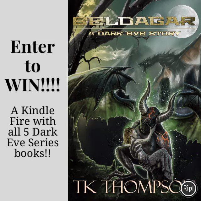 Enter to WIN- Kindle Fire, $25 GC, & The Dark Eve Book Series!