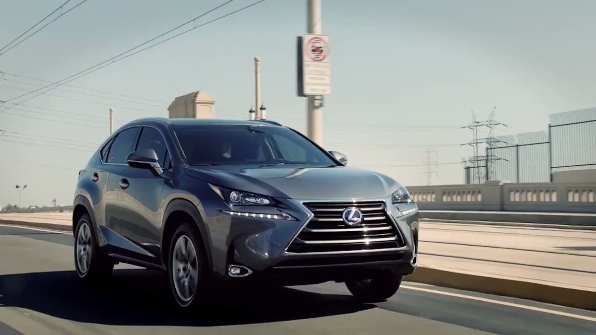 Stop less. Do more. #LexusNX 300h https://t.co/FU10n7Vtb4