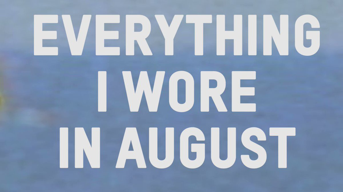 everything I wore in august on my app: https://t.co/MvEVhR8Jjd https://t.co/nGItXFFW27