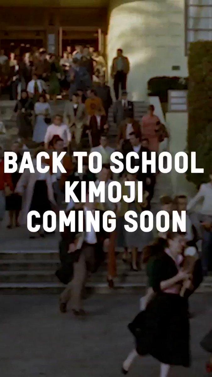 Kimoji back to school merch drops tomorrow on https://t.co/uJ7W1z5pLY https://t.co/JnKXH6qkVV