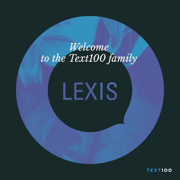 We're excited to say @LexisAgency is now officially @text100uk  https://t.co/UvPj4tP4qI