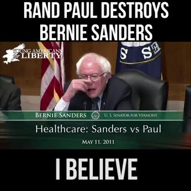 RT @ColumbiaBugle: Rand Paul destroys Bernie Sanders on Healthcare as a right. #MedicareForAll https://t.co/UQS0YX7IjA