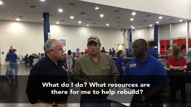 Watch here @FEMA & @SBAsouthcentral Q &A: What resources are available to help those impacted by #Harvey recovery? https://t.co/ZMIoPT9J10