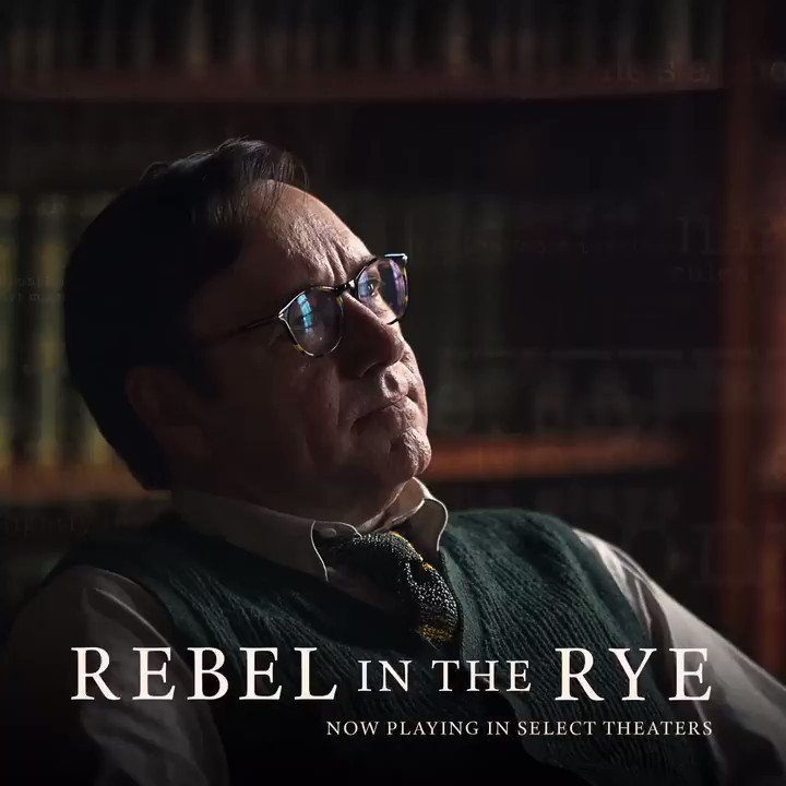 Witness the events that shaped the writings of J.D. Salinger in my new movie #RebelintheRye, opening TODAY https://t.co/bPaYCo3EDv