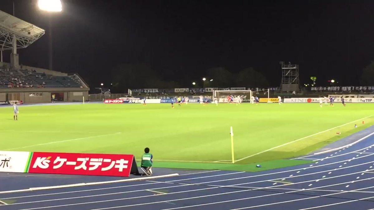 FC岐阜、水戸に勝って3連勝!!!今年のアニサカは岐阜が全て勝ちました!!!!#fcgifu #のうりん