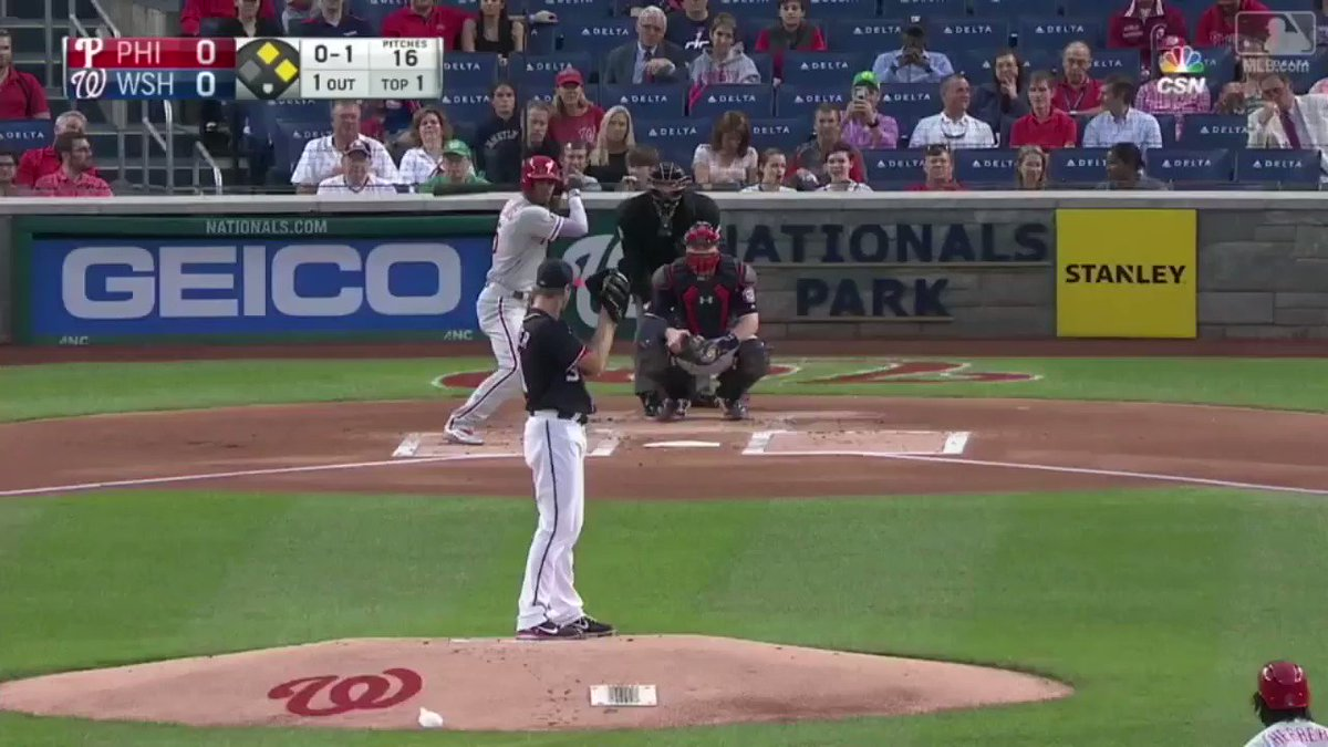 Yesterday was @NickWilliams409's birthday.  First at-bat against one of the game's best? SEE YA. https://t.co/Wx1wUNpS0S