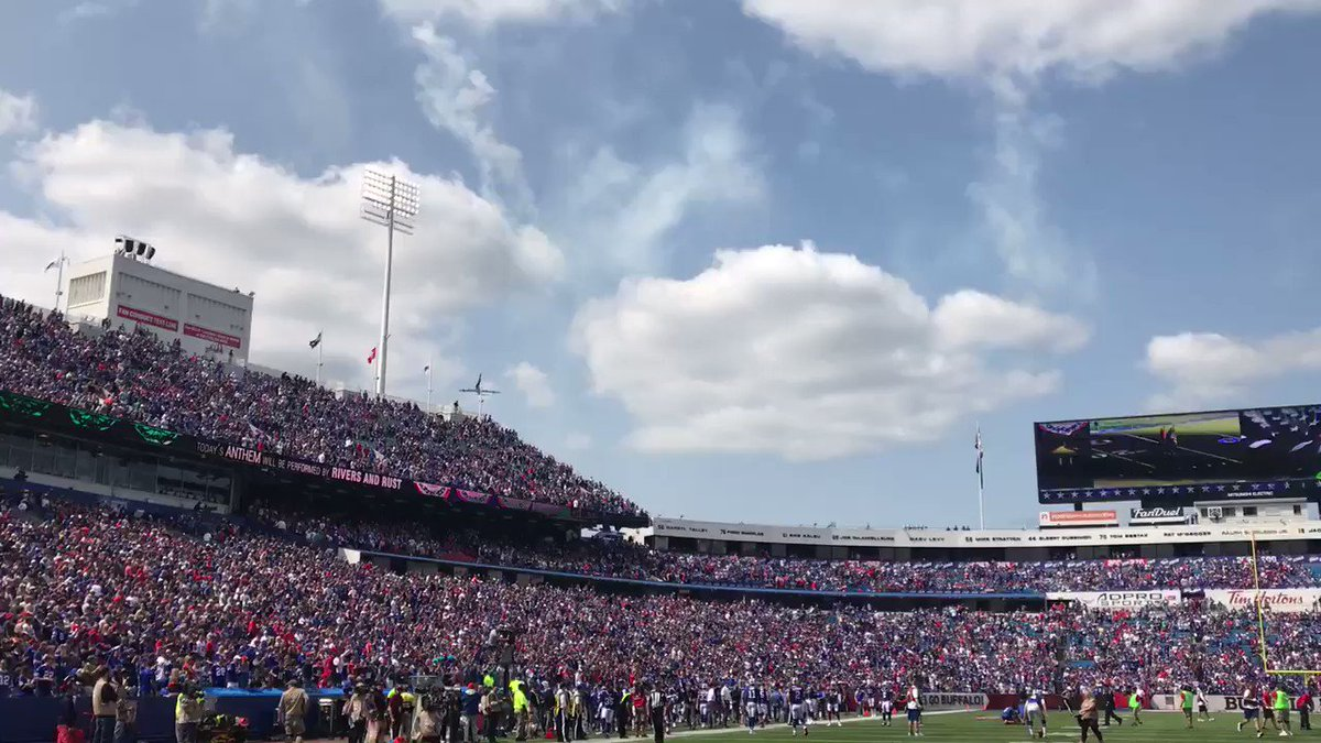 What a pregame moment. ���� #AFFlyover https://t.co/9EoySzgFwg