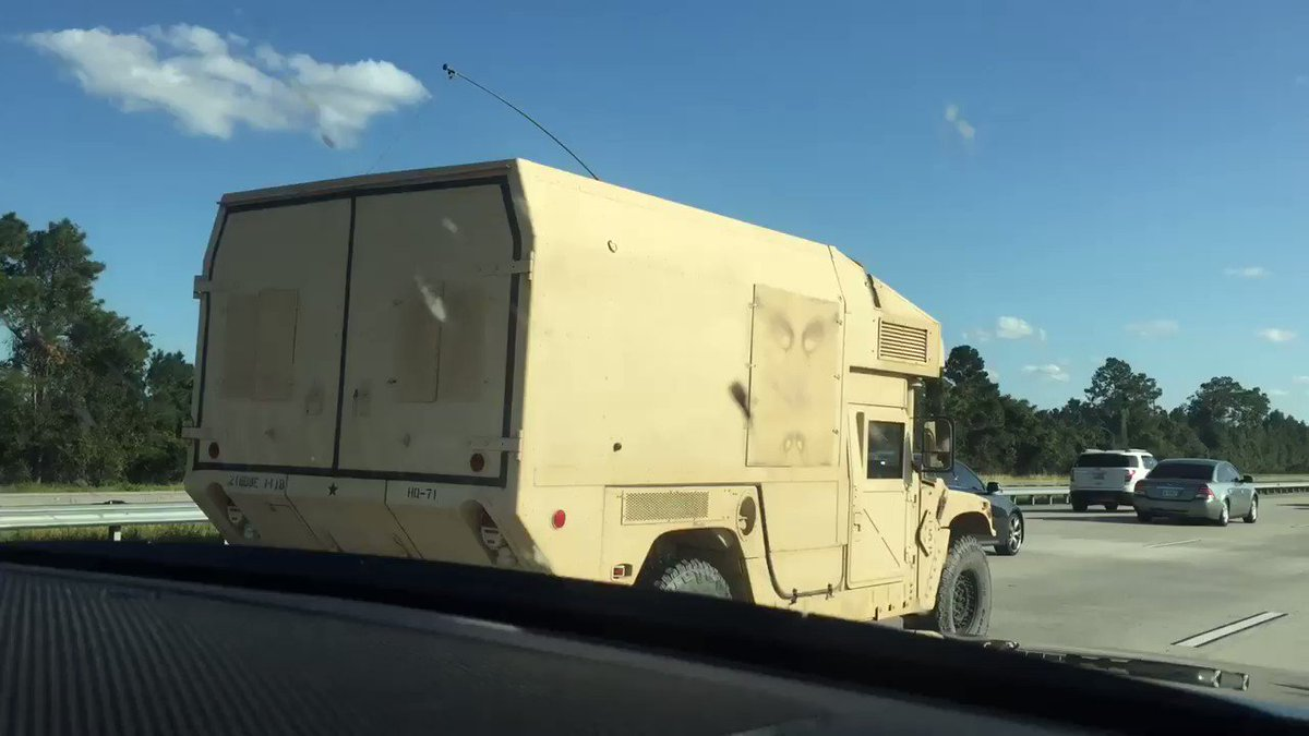 RT @S_ESQUIVEL_TV: Large military convoys headed to Florida #IrmaRecovery @10NewsWTSP https://t.co/cVkG8MVntD