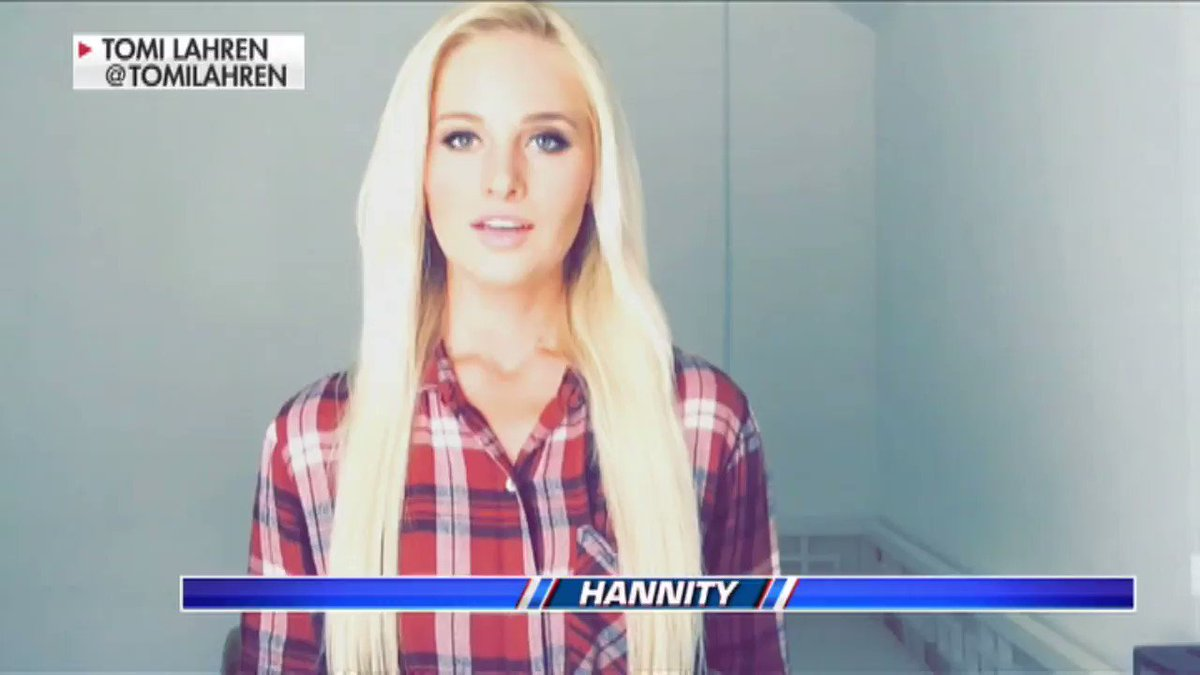 For last night's Final Word @TomiLahren had a special message for Hillary Clinton #Hannity https://t.co/PGBM0voBaP