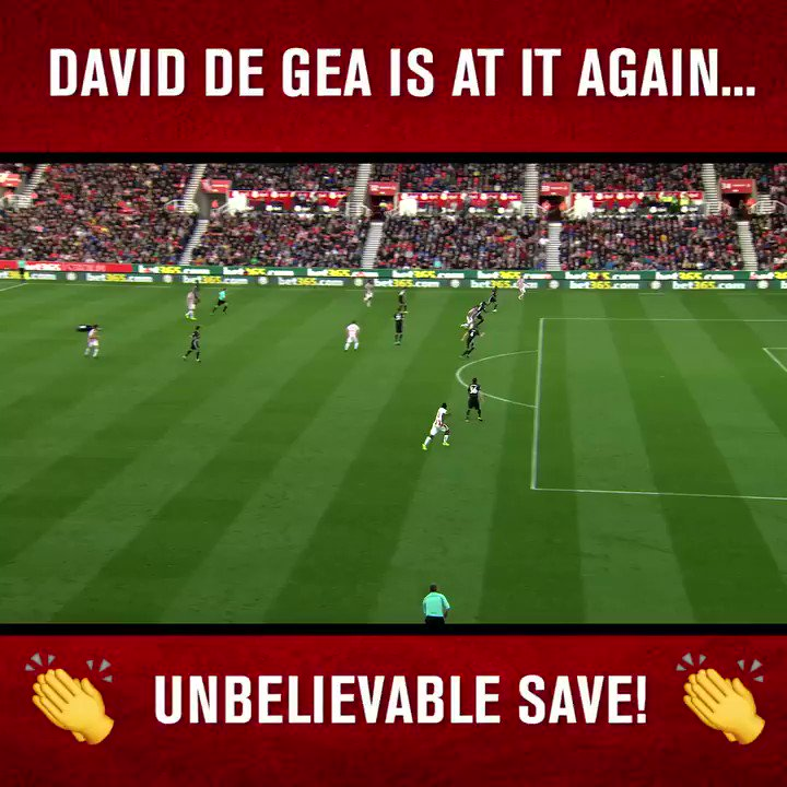 What. A. Save.  @D_DeGea's best for #MUFC? https://t.co/qkyg9rB0yl