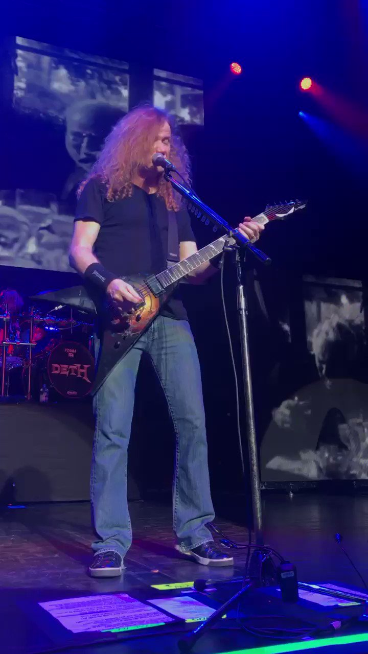 Happy 56th Birthday to thrash metal singer and guitarist Dave Mustaine