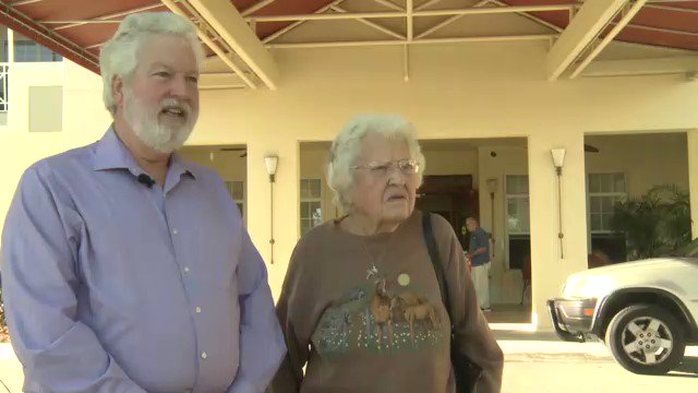 James and Linda worried for their elderly parents after the power went out at their senior home. #IrmaRecovery https://t.co/mqEOJgCGut