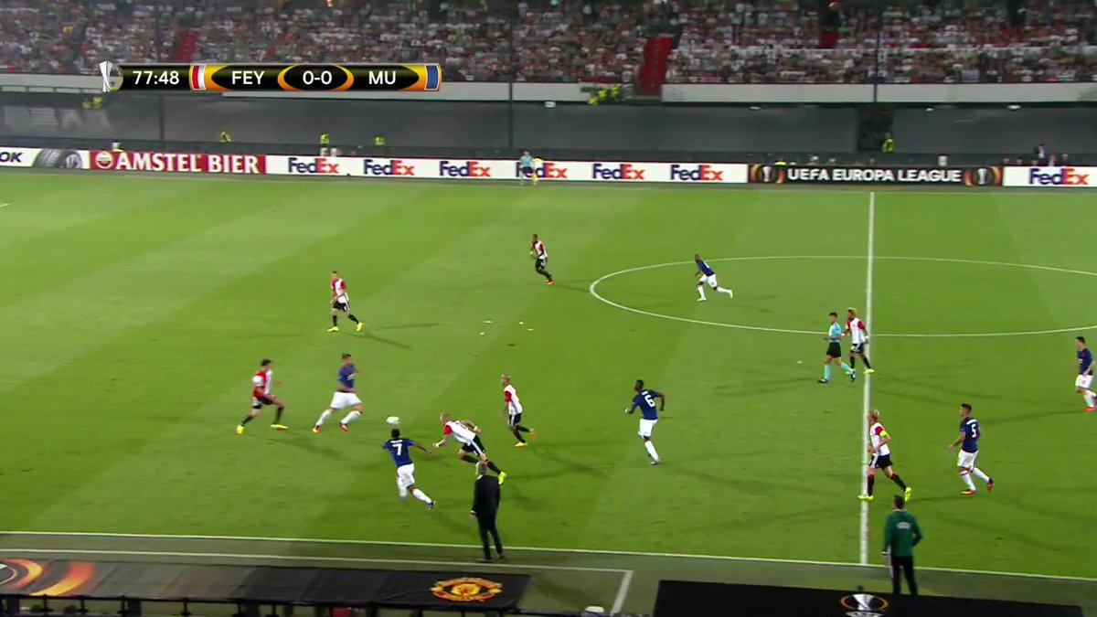 RT @Feyenoord: 🎥 | Remember last year, against that other team from Manchester? 😏  #feymci #UCL https://t.co/Ij3FrJv69v
