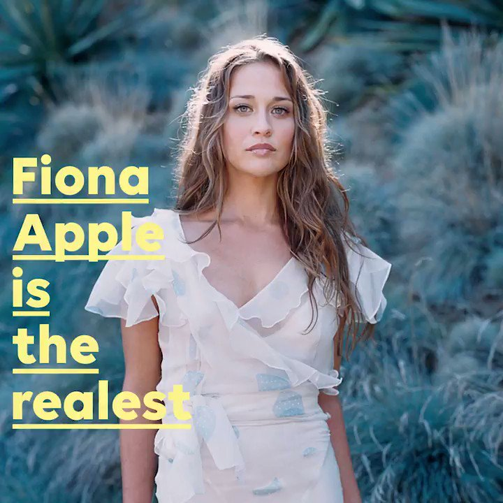 It's Fiona Apple's 40th birthday, never forget that time she told the honest truth at the 1997 VMAs ���� https://t.co/4uKnACN040