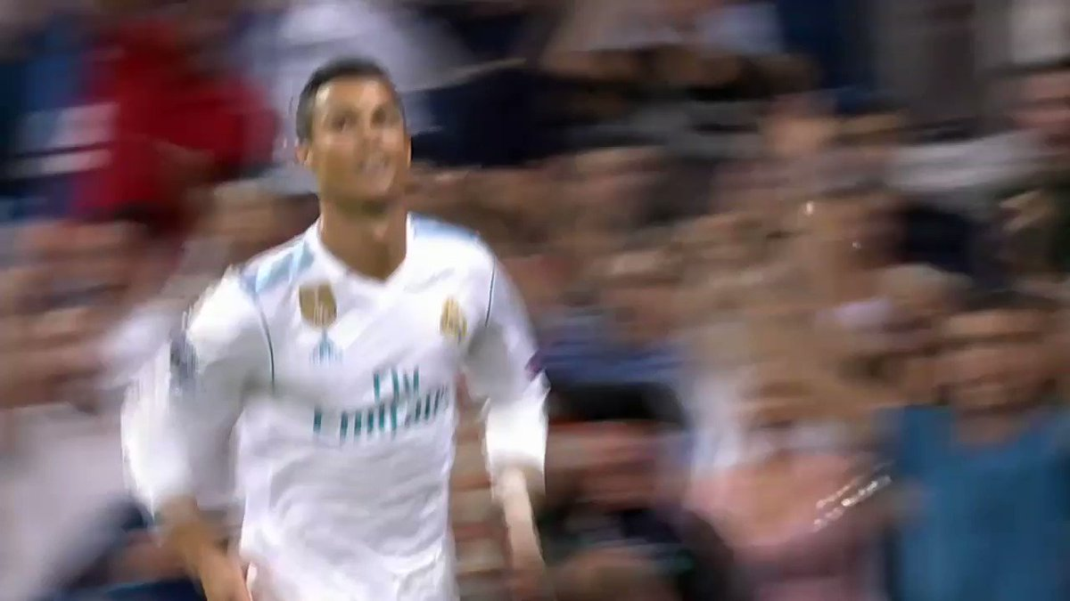 He's baaaack.  Watch Cristiano Ronaldo's Champions League brace here: https://t.co/zCW3DiPIvy https://t.co/v9K6Nk33fi