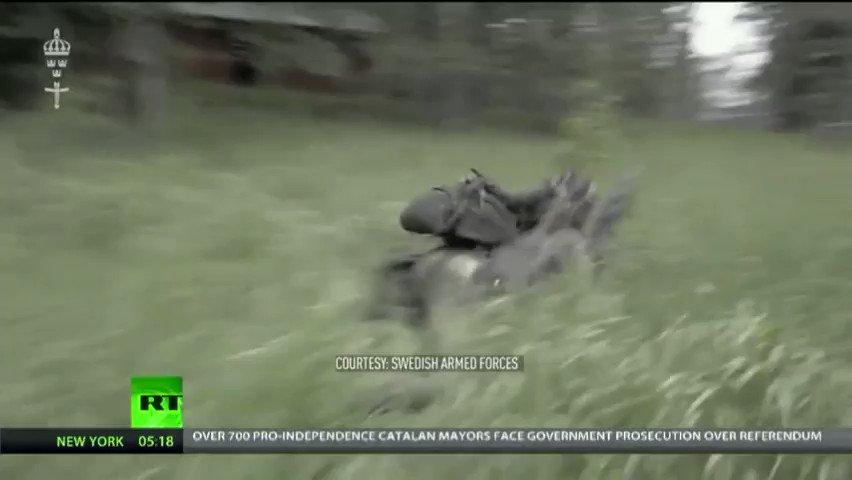 Biggest war games kick off in Sweden to practice deterrent skills against Russia (VIDEOS)