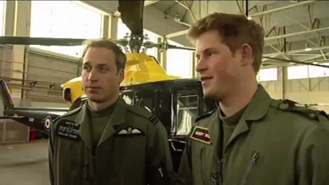 "Happy 33rd birthday, Prince Harry!! This is my all time favourite interview of William + Harry ""Baldness.\"""
