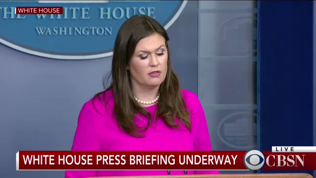 WATCH LIVE: White House holds press briefing after North Korea fires missile over Japan