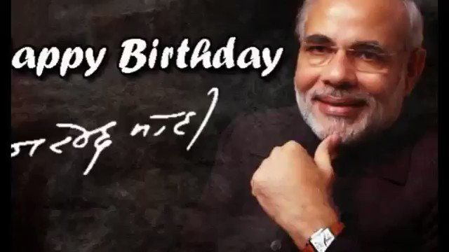 # Happy Birthday Narendra modi ji in advanced