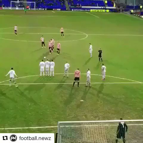 RT @FootbalIStuff: Throwback to when Cheltenham Town unleashed the greatest free-kick ever... 👏👏https://t.co/exoBUTnHqq