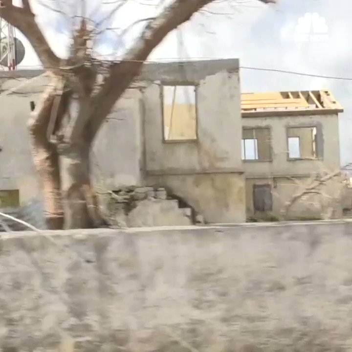 """It's just total devastation"": Residents of Barbuda try to rebuild after Hurricane Irma"