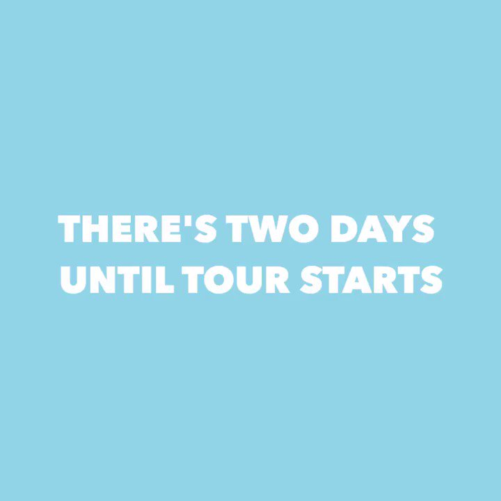 2️⃣ days till #WITNESSTHETOUR ��❗️...and we played hooky �� https://t.co/2GXeVyANvs