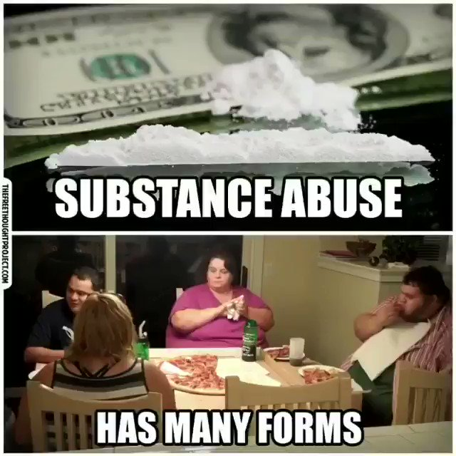 Substance abuse has many forms. #health #food #drugs #addict #truth #divergent https://t.co/vfu3hOY6AY