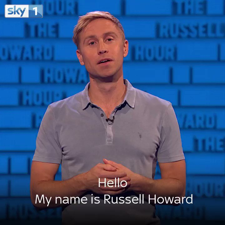 My brand new @sky1 show, The Russell Howard Hour, starts this Thursday... can't wait for you to see it! https://t.co/TKvbiPC4ms