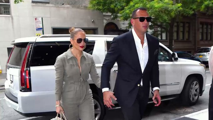 @InStyle: .@AROD and @JLo are taking the next step as partners?into the business world, that is. https://t.co/4URkTHMVKi