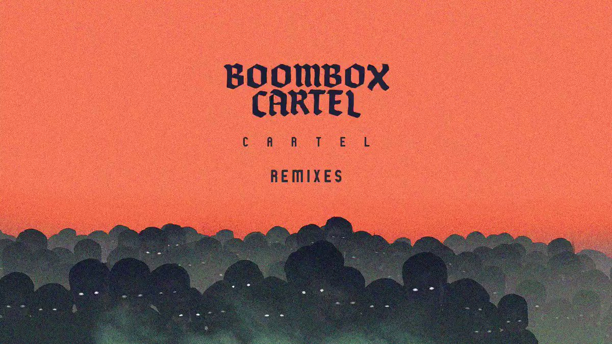 AVAILABLE NOW: 'cartel (remixes)' ep + official merch ������  @BoomboxCartel  https://t.co/02Lhgj4coo https://t.co/SNSiuqEseI
