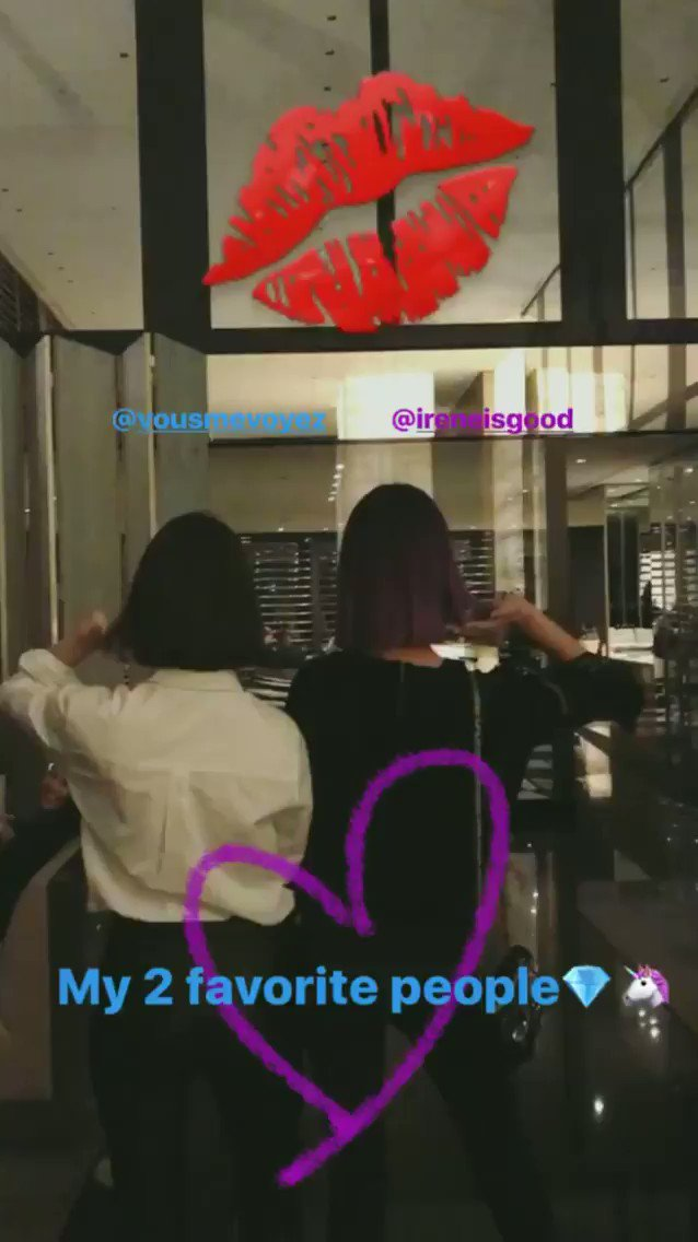 [INSTAGRAM STORY VIDEO] jessica.syj: My 2 favorite people���� @/vousmevoyez  @/ireneisgood �� https://t.co/pSwqjdua8n https://t.co/UMwVpNUZAH