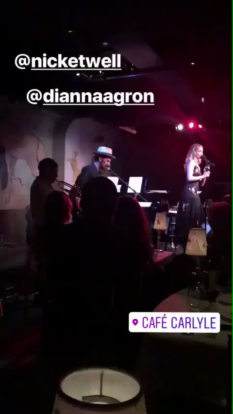 [VIDEO] Dianna Agron performing tonight at @CafeCarlyle @TheCarlyleHotel (via Paul Adams #Instagram stories) https://t.co/Y6LL15SKTc