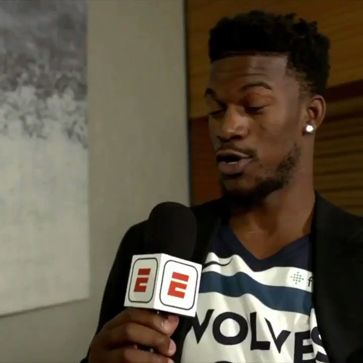 Jimmy Butler is a natural with the mic �� https://t.co/5YCA5hGHYM