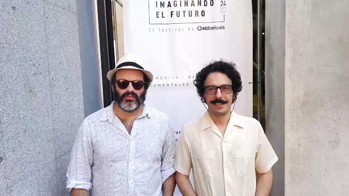 Ya están aquí los de @revistamongolia con un mensaje desde 2034 para vosotros #eldiariofuturo