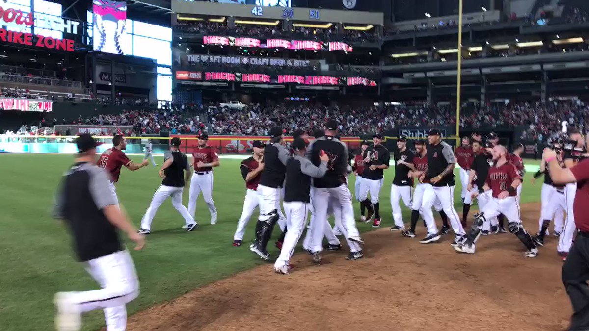 For the 6th time in franchise history, your #Dbacks are #postseason bound! #OurSeason
