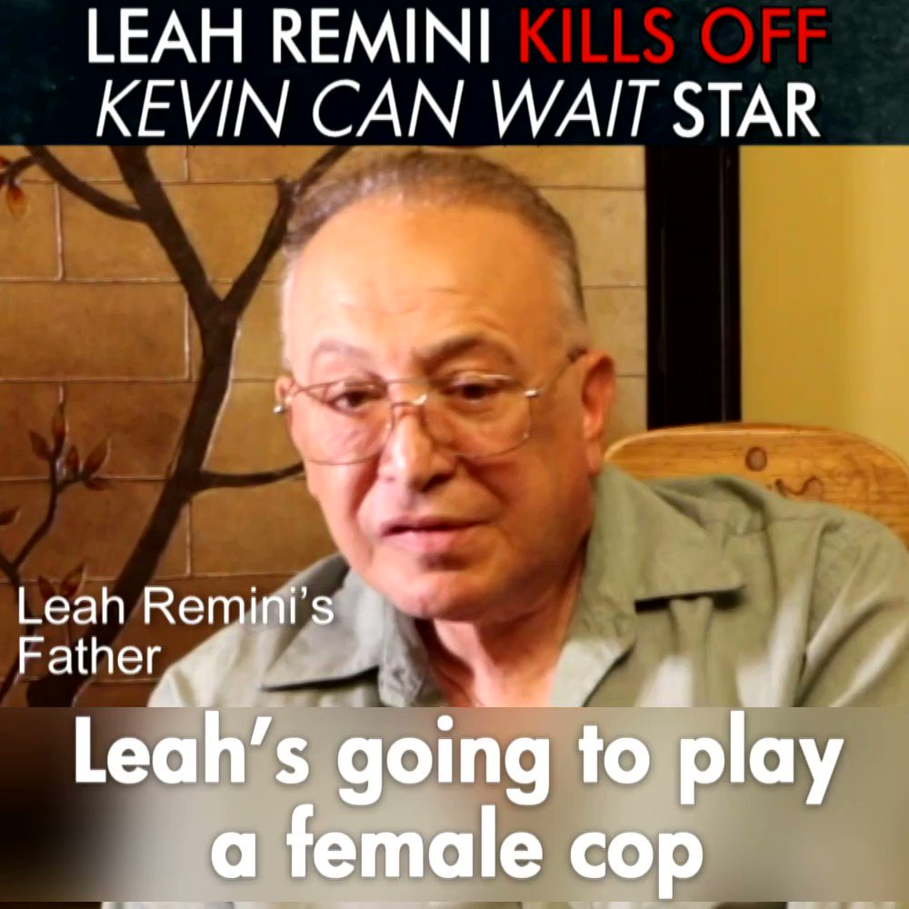 RT @standleague: #LeahRemini on #KevinCanWait steals role from a real comedian @hayeslady https://t.co/fo2KKaa3e0