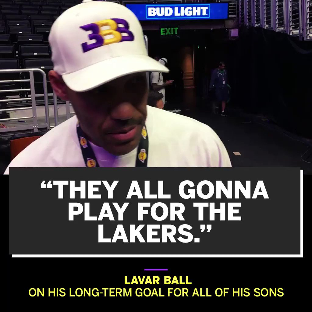 LaVar says the 'Ball Era' is just beginning. https://t.co/Iy3WVk924t