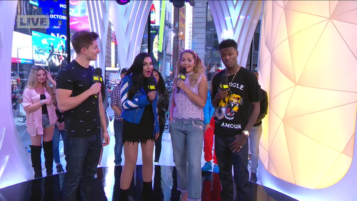 RT @TRL: .@RitaOra was dishing the goss on her upcoming EMAs performance! https://t.co/LbtT204ZHG