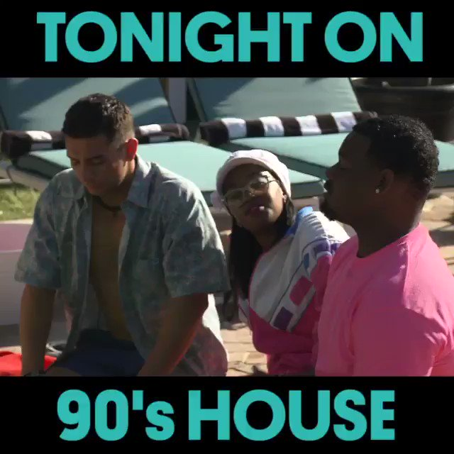 RT @MTV90sHouse: We've got a sneak peek of tonight's episode of #90sHouse ????. Are you ready to kick it tonight? https://t.co/YspizcF0ok