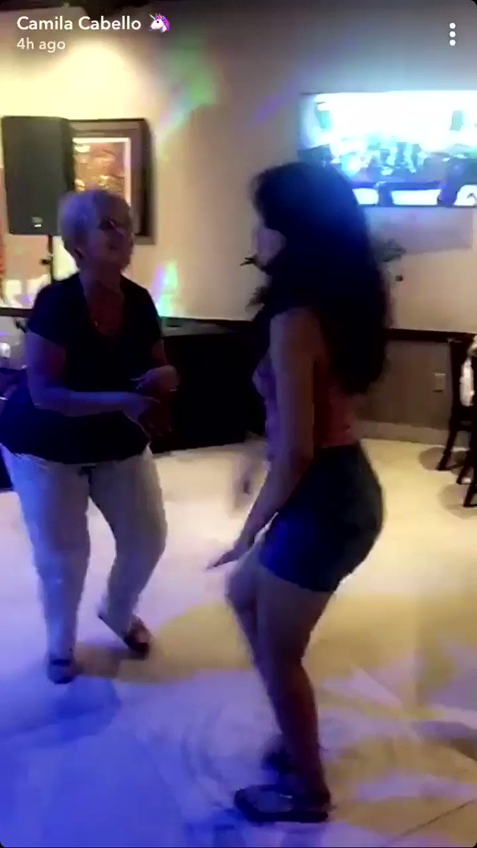 camila & abuela dancing together is the cutest thing ever �������� https://t.co/B3sGPonxPv