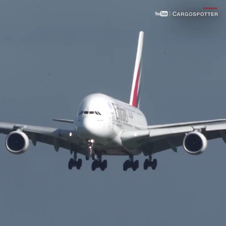 Whoa! Watch this Airbus A380 battle a strong crosswind while landing in Germany
