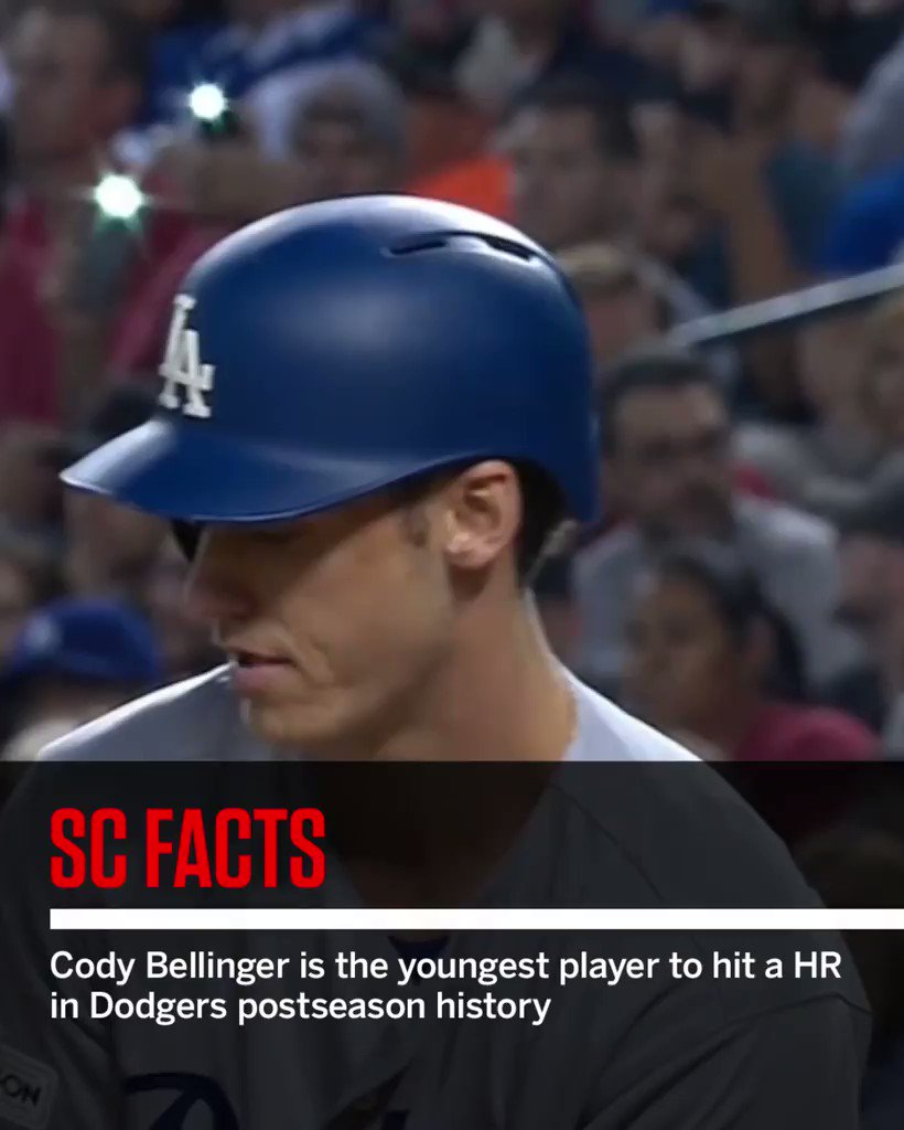 The rookie's making Dodgers history. #SCFacts https://t.co/nlUYwMOqNS