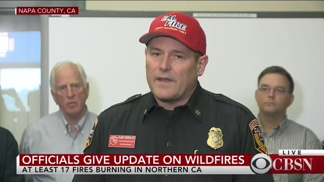WATCH LIVE: Officials give an update on at least 17 wildfires burning in Northern California