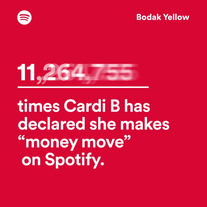 Happy birthday @iamcardib! We ran some numbers for you...  https://t.co/CELHiQST7E https://t.co/LYW4mYg4nM