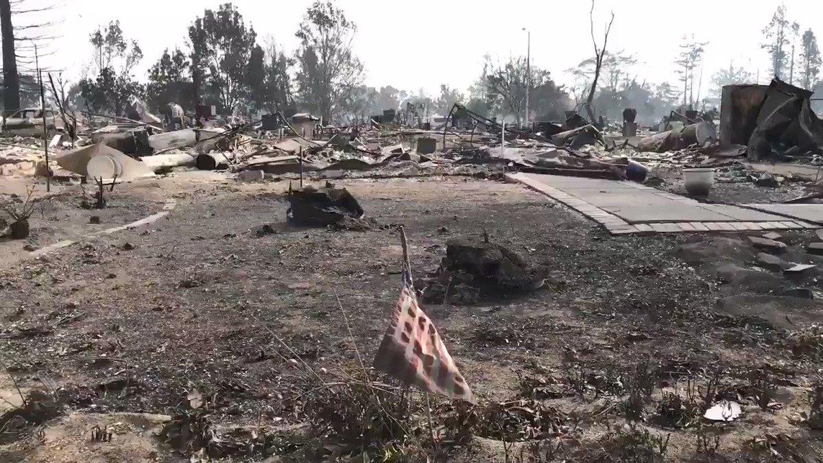 Tense battles across Northern California as firestorm grows; 23 dead, hundreds missing https://t.co/pCkl3IwcUr https://t.co/iZpKVnF7UY