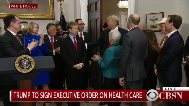 WATCH LIVE: Pres. Trump set to sign an executive order on health care https://t.co/T5uqoA85rO https://t.co/VBE9DL6WDY