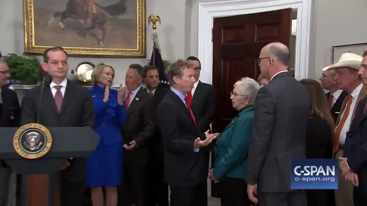 """This never gets old. Rand Paul to """"Curb Your Enthusiasm"""". h/t @ClifsTweets#FridayFeeling"""